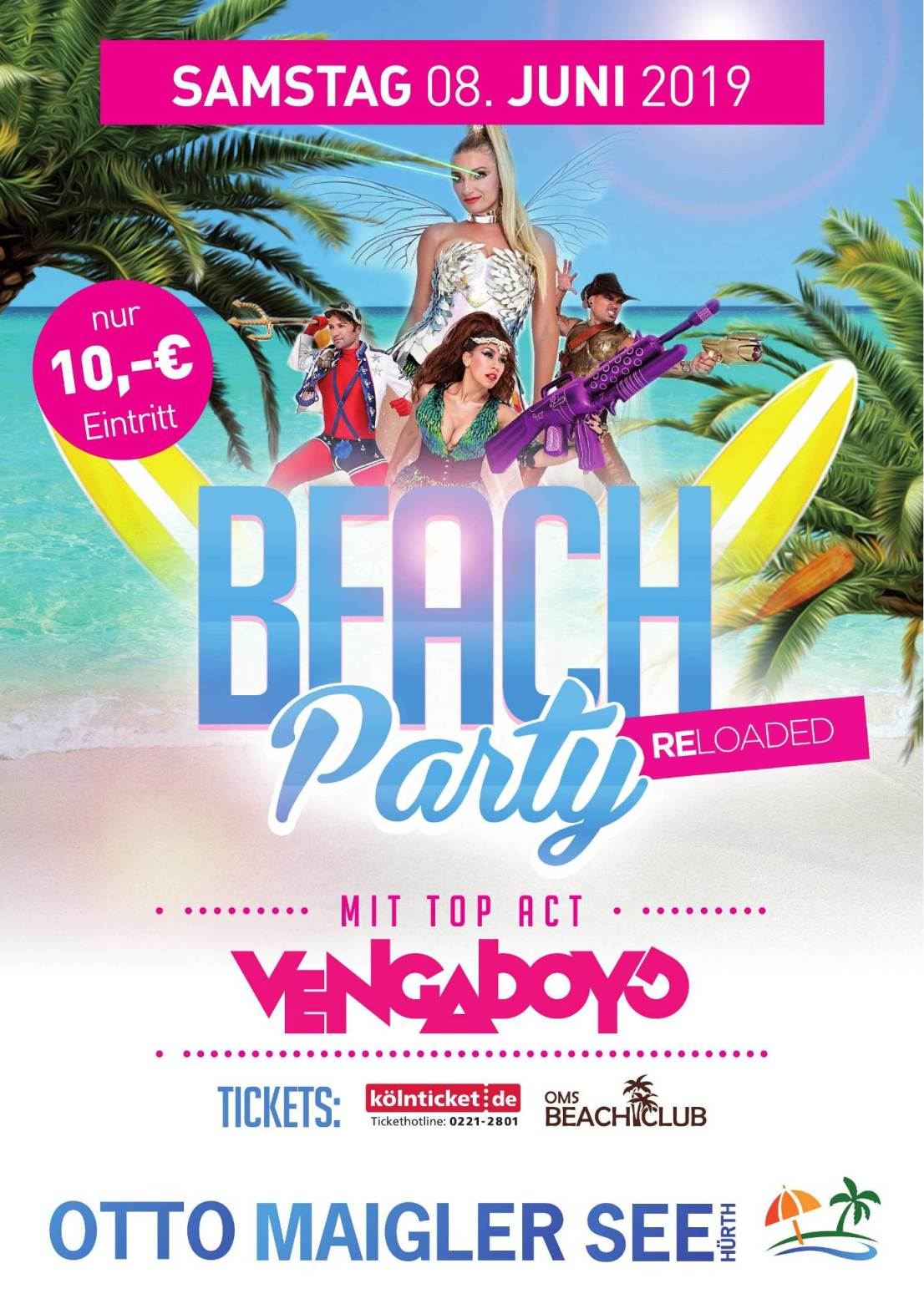 Beach Party REloaded